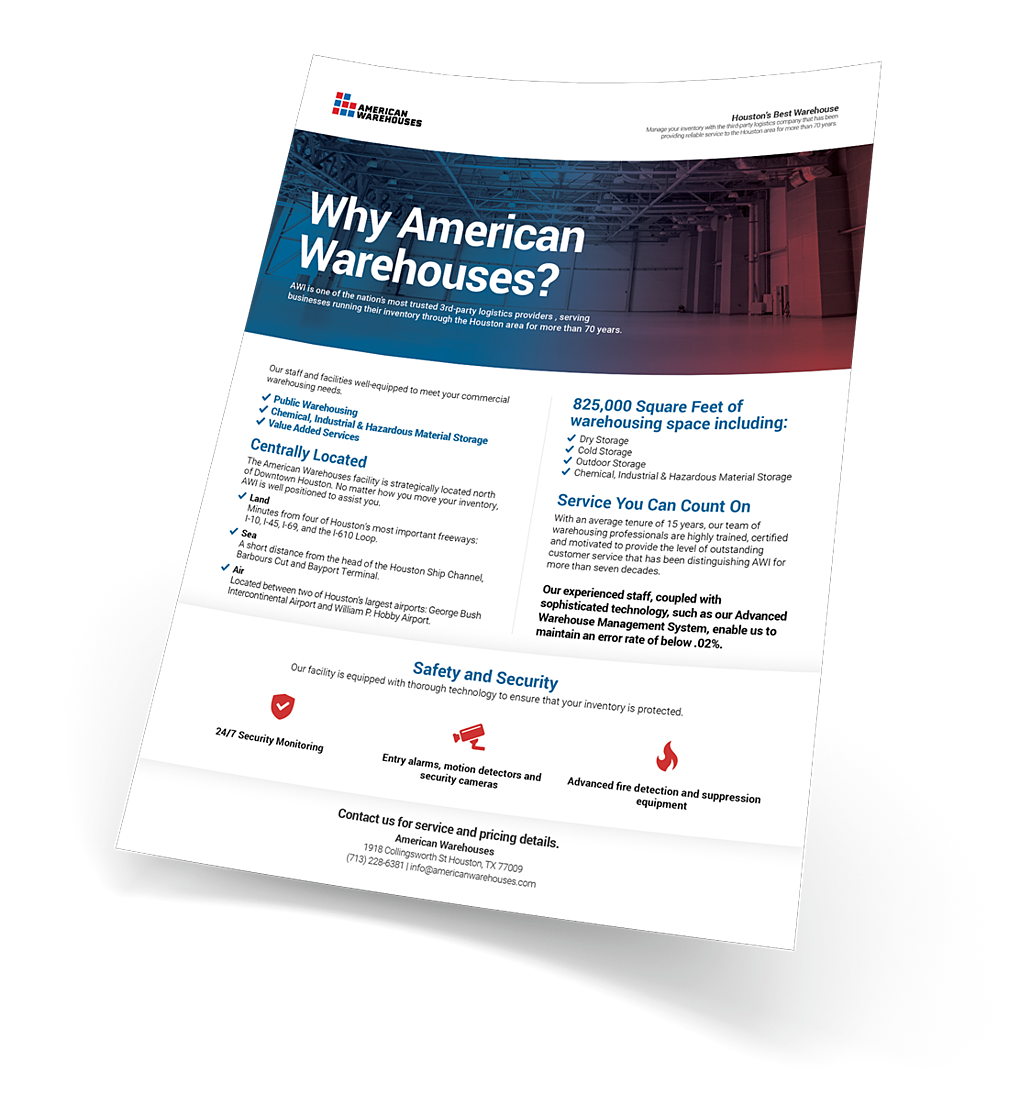 Why American Warehouses?