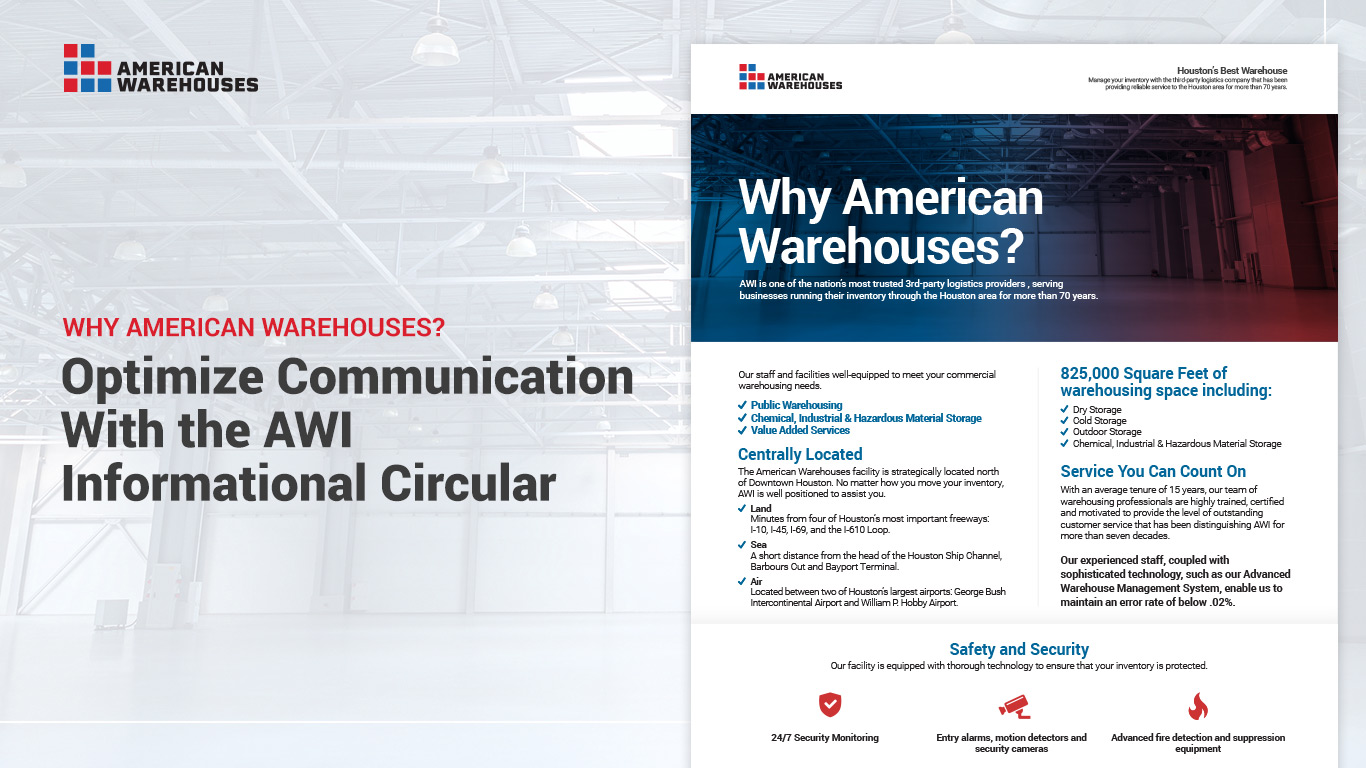 Optimize Communication With the AWI Informational Circular